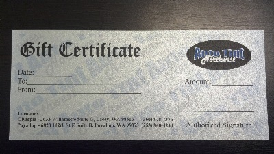 Auto tint northwest automotive commercial residential window tinting gift certificates available for any occasion yelopaper Gallery